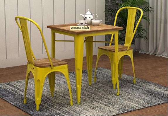 Buy-Wrought-Iron-Furniture-Online-India | 2 seater dining table set online at low price in Bangalore