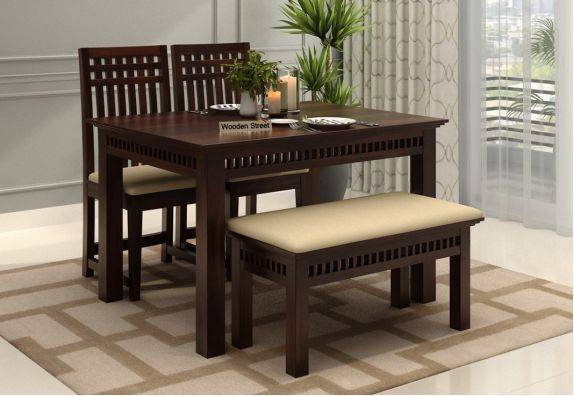 4 Seater Dining Table Set Buy Four Seater Dining Set Online