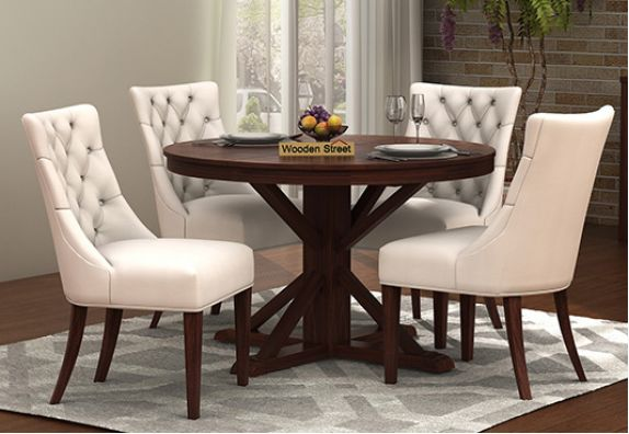 round dining table set 4 seater for sale