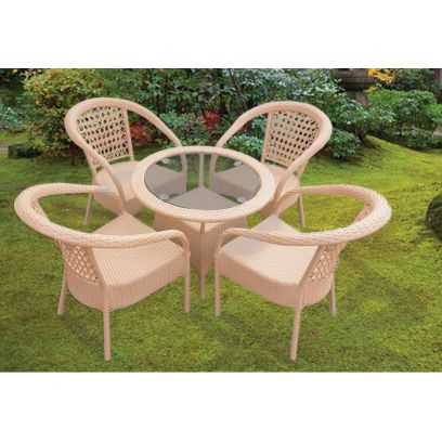 Edith 4 Seater Outdoor Dining Set