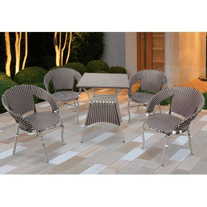 Platina 4 Seater Outdoor Dining Set