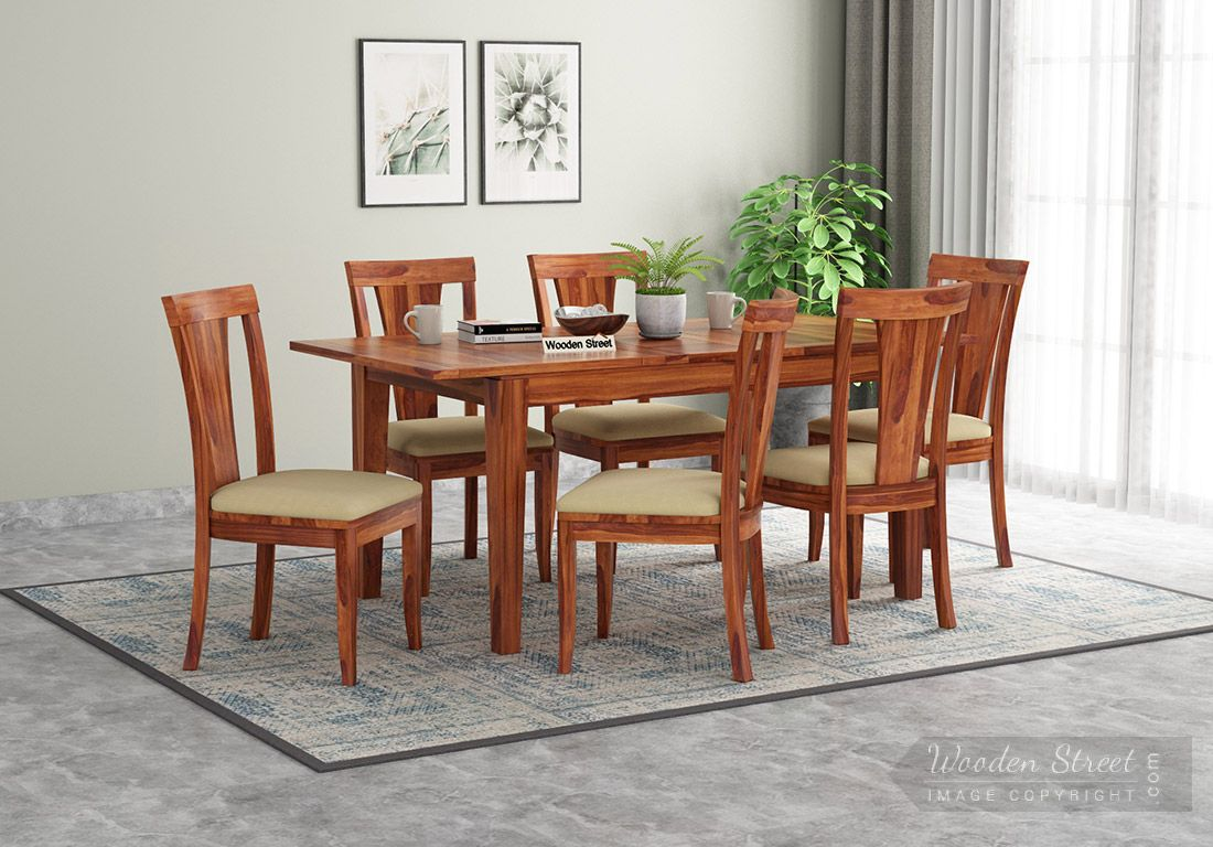 Franco Extendable 6 Seater Dining, Dining Room Sets For 6