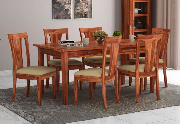 buy 6 seater dining table and chairs online