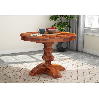 cheap round shape dining table online bangalore