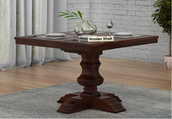 4 seater dining table designs india