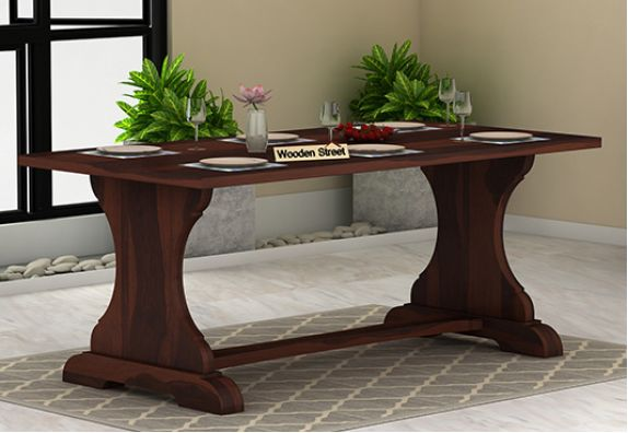 buy wooden dining tables in bangalore