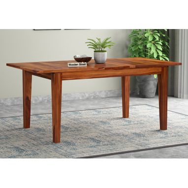 space saving furniture: solid wood dining table online india