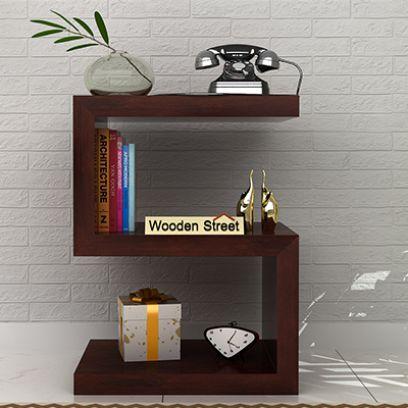 Frank Display Cabinet (Walnut Finish)
