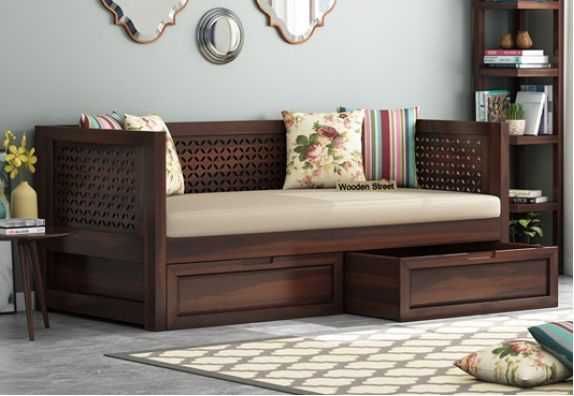 solid wood Divan bed in bangalore, mumbai, chennai, pune, hyderabad