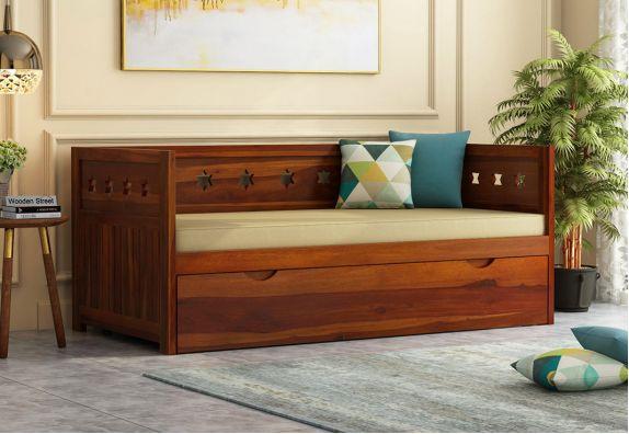 Sheesham Wood Divan Bed With Storage in bangalore, mumbai, chennai, pune, hyderabad