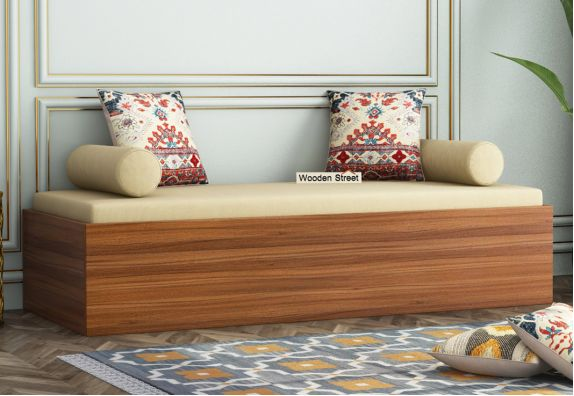 Single Diwan bed price online from WoodenStreet