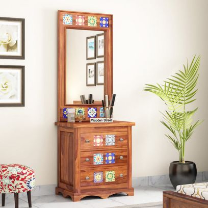 Solid wood dressing tables with mirror price