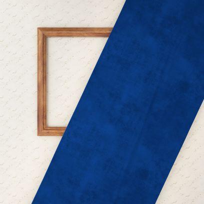 Fabric Online - Indigo Blue Plain 100% Velvet Fabric