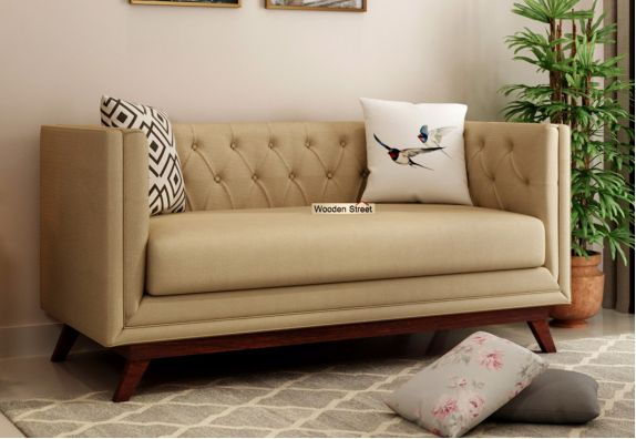 Modern 2 Seater Sofa for Bedroom