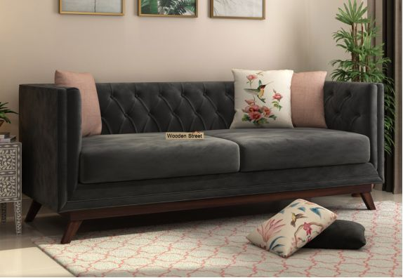 3 Seater Fabric Sofa Set: Buy Online in India