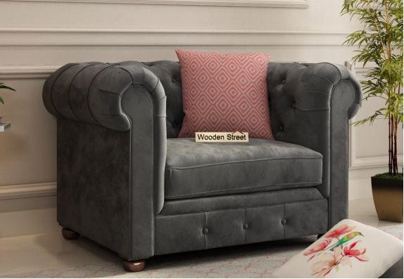 Henry 1 Seater latest Sofa set design 2020