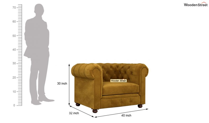 Henry 2 Seater Sofa Velvet, What Size Is A 2 Seater Sofa