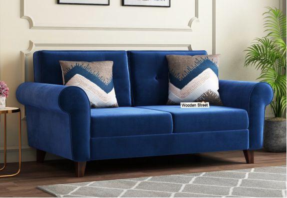 Orlando 2 Seater Sofa (Indigo Blue)
