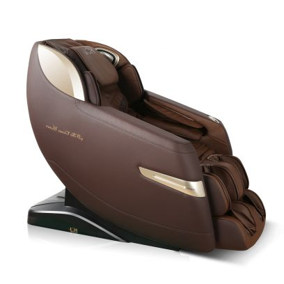 EGenki A Fully Voice Controlled with 4D Technology Body Massage Chair (Black)