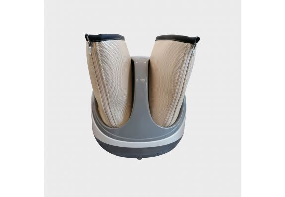White EMomino Hard Body Foot and Leg Massager
