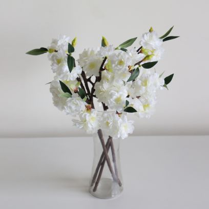 Buy white artificial flowers online in Bangalore