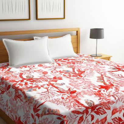 Pure Cotton Bed Covers Online @ Wooden Street