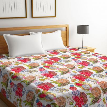 Best Cotton Bed Covers in Traditional Design