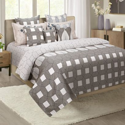 Buy Geometric Print Bedding Sets Online at Discount Price