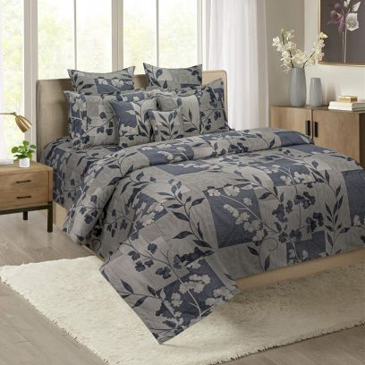 Buy King Size Fitted Bed Sheet with Pillow Cover Set Online in India