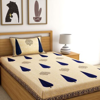 Single Bed Sheets Online @ Best Price in India