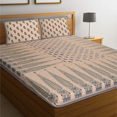 Buy Bedsheets Online at Best Prices in India @ Wooden Street
