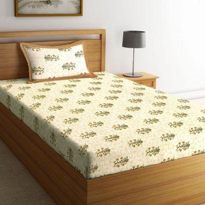 Jaipuri Single Bedsheets Online @ Wooden Street