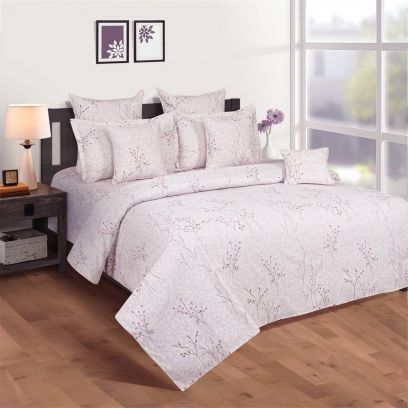 Buy Floral Print Bed Sheets Online from WoodenStreet