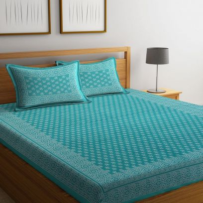 Shop Online Cotton Bedsheets for Double Bed