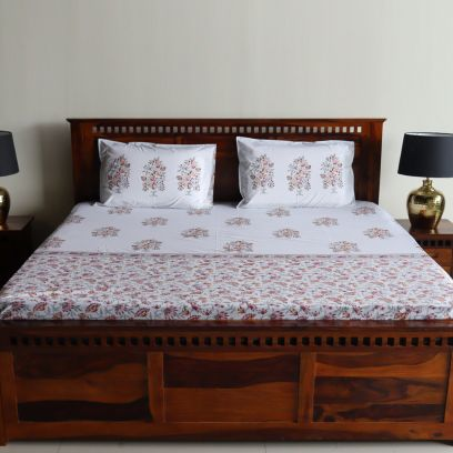 Buy Double Bedsheets for Double Bed Online @ Wooden Street