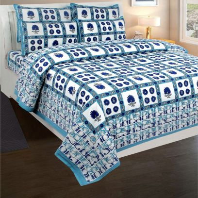 Shop best Double bed Sheets Online in India