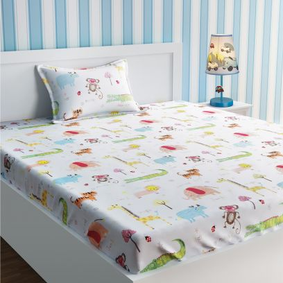 buy Kids bedsheets low price in india
