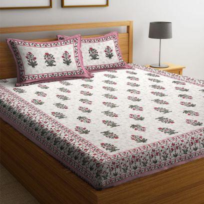 Double Cot Bed Sheet Online @ Best Price