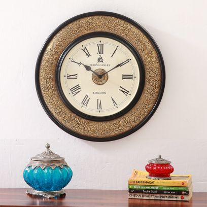 Buy Wooden Wall Clocks for home