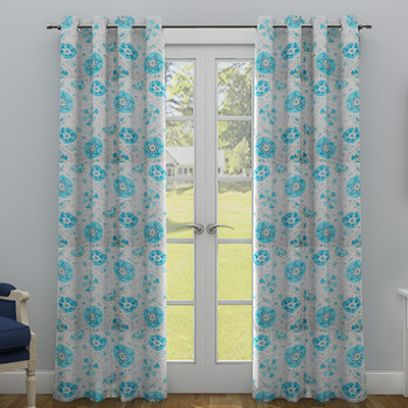 Floral Door Curtains: Buy Online from WoodenStreet