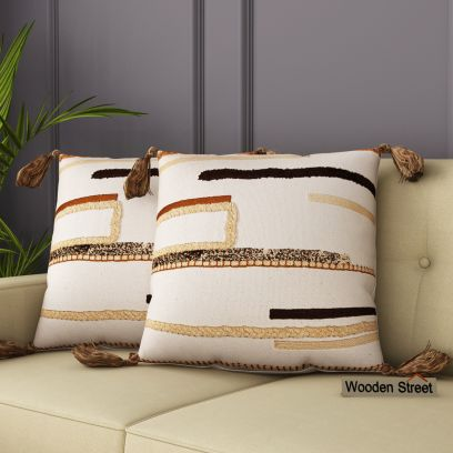 Latest Sofa Cushion Covers Designs @ Wooden Street