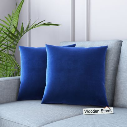 Cupid Velvet Cushion Covers - Set of 2 (Graphite Grey)