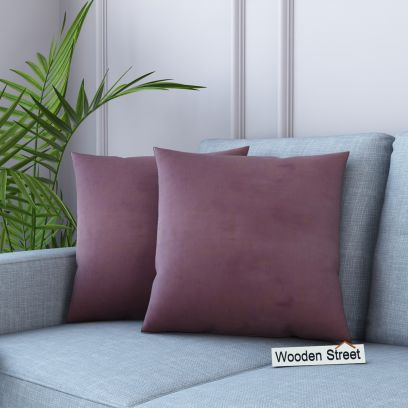 Cupid Velvet Cushion Cover (Salmon Pink)