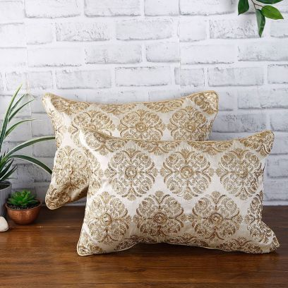 Gold Sequin Pillow Covers Shop Online at Wooden Street