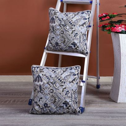 Beautiful Embroidered Cushion Covers Online @ Wooden Street
