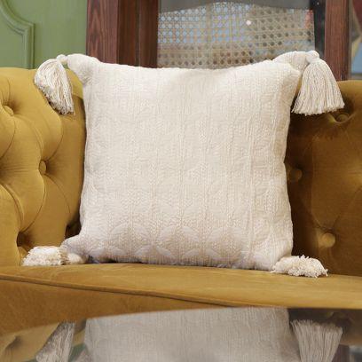 Jacquard Fabric Cushion Covers Online