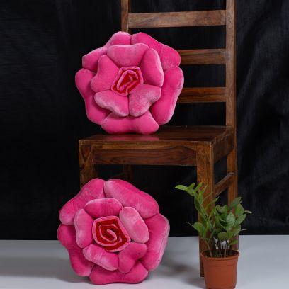 Flower Shape Decorative Cushions Online India