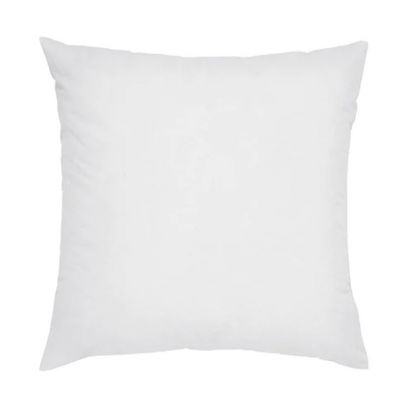White Synthetic Fill Cushion - 18 x 18 inch