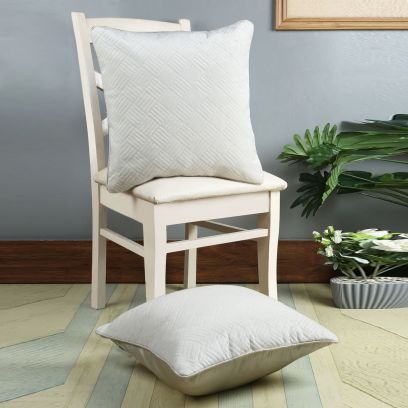 White Super Soft Cushion Covers Online