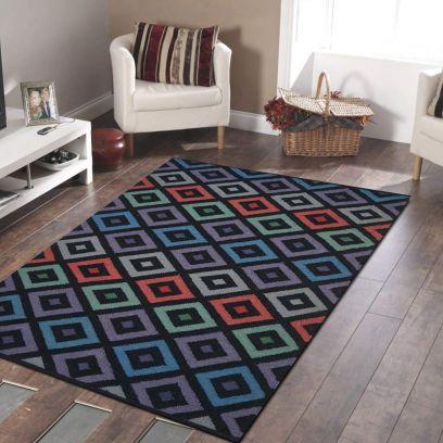 Multi color Kilim Carpet for Living Room